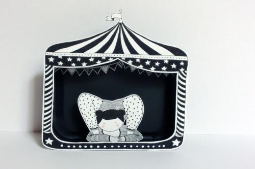 contorsionniste,cirque,illustration,papier,boîte,découpé,noir,blanc