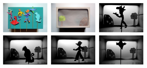 théâtre, ombres, chinoises, atelier, arts, plastiques, enfants, périscolaire