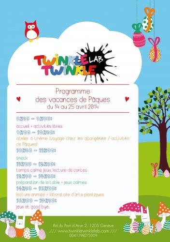 programme, vacances, pâques, ateliers, artistiques, enfants, arts, plaqtiques,